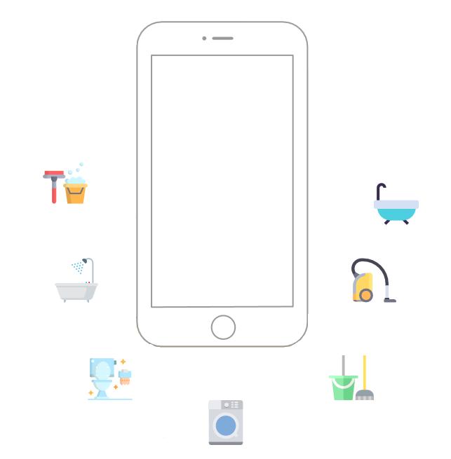 اپلیکیشن نظافت منزل